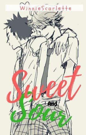 Sweet and Sour || Haikyuu! Soulmate Au! || by kkouchii_