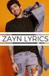 ZAYN Lyrics [P.T] cover