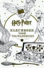 Harry Potter, kleurboek voor volwassenen / coloring book for adults (+ quiz) by LaureLuyckx