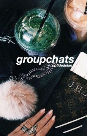 groupchats ; e.d + g.d by riptidedolan