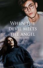 When the devil meets the angel  by columqueen
