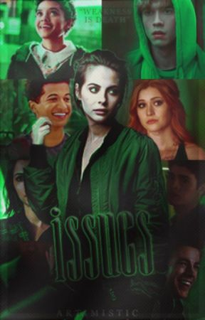 ISSUES, teen wolf. by artimistic