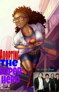 Adopting The Superhero  cover