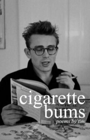 cigarette bums by juxtapoz