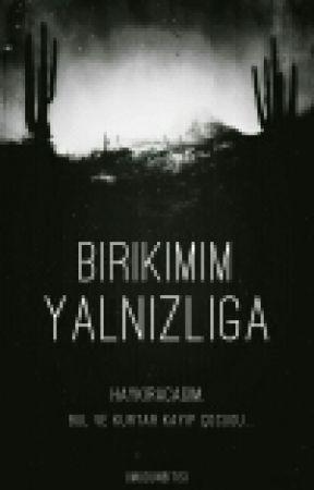 BİRİKİMİM YALNIZLIĞA by UmudunBitisi