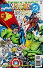 "Avengers V.S. Justice League ""War"" by BlazingFernape"