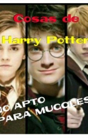 Cosas de Harry Potter  by MiriBlueReader