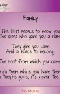 Family poems cover