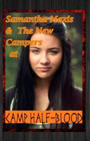 Samantha Maxis, New camper at Camp Half-Blood by CaptainKitana