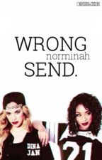 Wrong Send. (norminah) by sandrasblanket