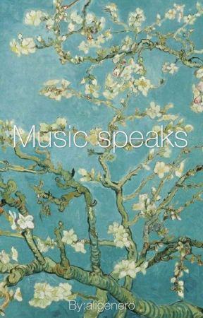 Music speaks by aligenero