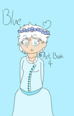 Blue (Art Book 4)  by ArcticFionaTheFox
