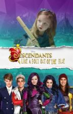 Descendants: Like a Bolt Out of the Blue by Astilbe_leaves