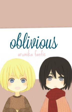Oblivious | Arumika // Attack On Titan // Highschool AU by benevolency