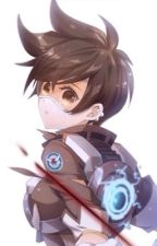 Overwatch Tracer x Reader (creative title. I know) by AFatLlama