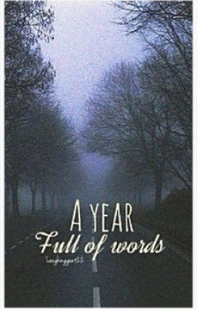 A year full of words by laughinggoat22