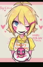 Lets have a party (Human toy chica x reader) by annawolf123