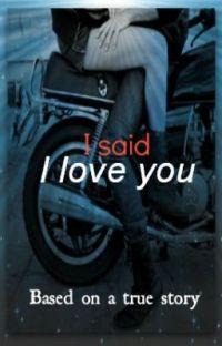 I said I Love You ✔️ cover