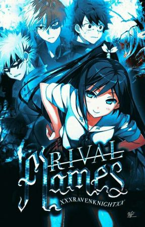 『Rival Flames』↬ A Boku no Hero Academia OC Story  by -ravenknight