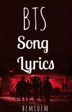 BTS Song Lyrics by Bemidem