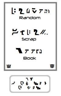 Random Scrap Book cover