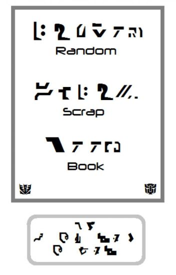 Random Scrap Book