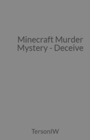Minecraft Murder Mystery - Deceive by TersonIW