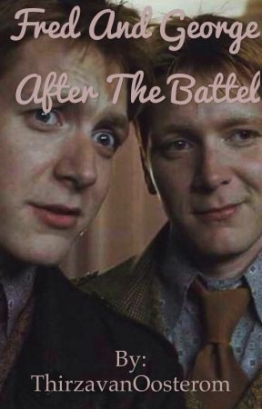Fred and George after The Battle by FifthUmbrella