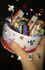 الحلوى حب  by raghad_feras