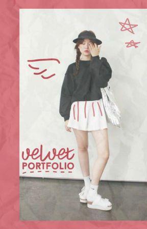 velvet portfolio by aeroshii