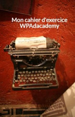 Mon cahier d'exercice WPAdacademy by Ices2iceS