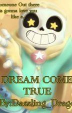 Cream- A Dream Come True (Dream X Cross sans) by Dazzling_Dragon