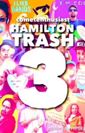 Hamilton Trash 3: Triple the Hamilton  by draqonlady