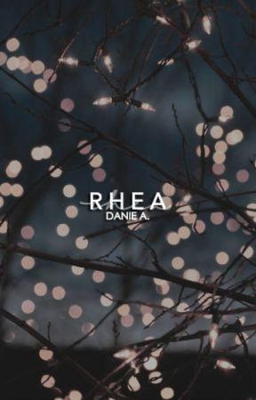 RHEA | I | ↠ S. BLACK (o.h) by Danincredible