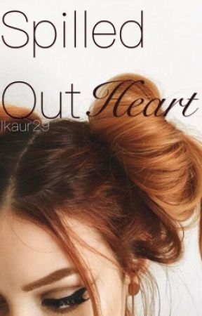 Spilled out heart by sappyself