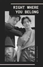 Right Where You Belong | MEANIE Seventeen Fanfic by meanieforlife