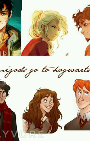 Demigods go to hogwarts