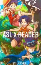 One piece ASL x Reader by _michilli_