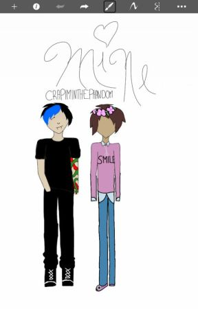 Mine (Phan song fic) by crapiminthephandom