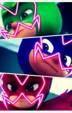 Dark Masks (Miraculous Ladybug And PJ Masks Fanfic) (English Version) by Lettyne_Reads