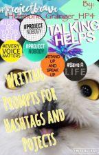 Writing Prompts for Hashtags and Projects  by Hermione_Granger_HP4