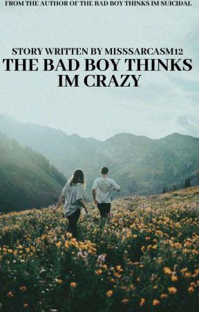 The Bad Boy Thinks I'm Crazy by MissSarcasm12