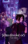Jeho divoké oči  -Omegaverse- cover