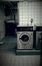 Jenny Sings in the Laundry Room by Amigara