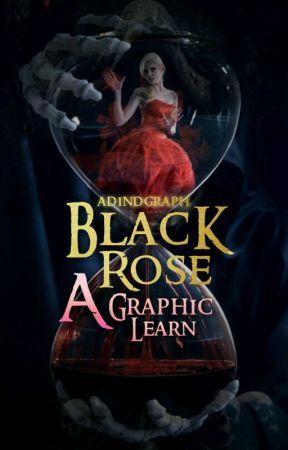 Black Rose; a graphic tutorials by adindputri