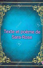 Texte by RoseBeaulieu