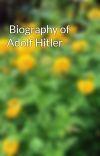 Biography of Adolf Hitler cover