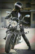 The nerd rides a motorbike? by polkadotpyjamas