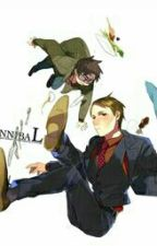 Falling into Hannibal (Yandere Will X Reader X Yandere Hannibal) by EPICNESSQUEEN21