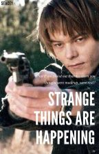 Strange Things Are Happening. (Jonathan Byers x OC) Wattys 2017 by Staceeeeers